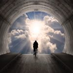 Light at end of the tunnel.